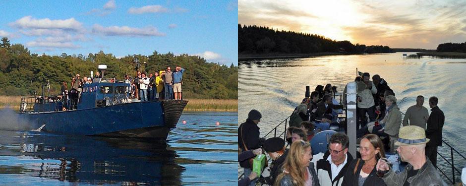 Fest och båttur
